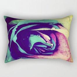 Rainbow rose Rectangular Pillow