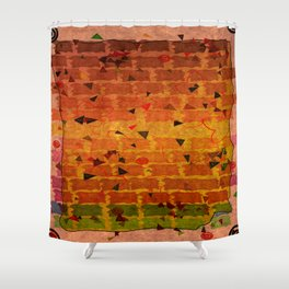 Relaxing Pattern Shower Curtain
