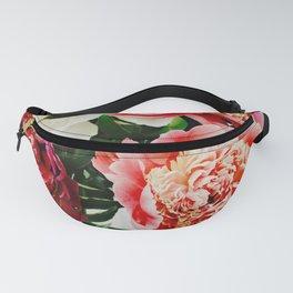 Vintage Flowers Fanny Pack