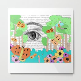 Eye Dream Metal Print