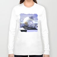 imagine Long Sleeve T-shirts featuring Imagine by thea walstra