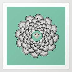 Sheep Ear Art - 2 Art Print