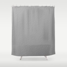 Modern Silver Texture  Shower Curtain