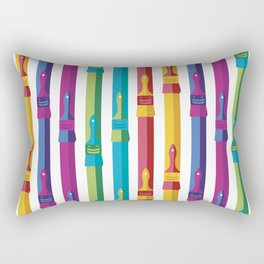 Color Your World Rectangular Pillow