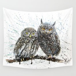 little owl's Wall Tapestry