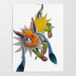 Chymereon— Eeveelutions Mashup Poster