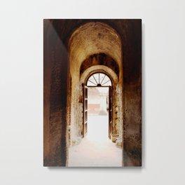 Hallway-Antigua, Guatemala Metal Print