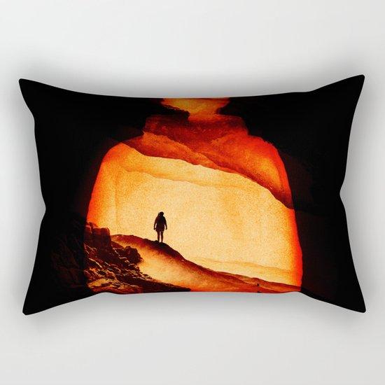 Love Aloneness Rectangular Pillow