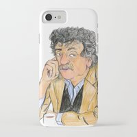 vonnegut iPhone & iPod Cases featuring Vonnegut by McHank