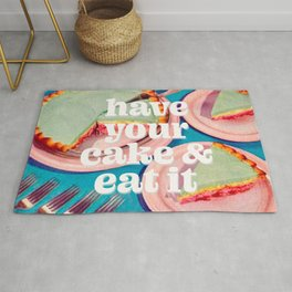 Have your cake Rug