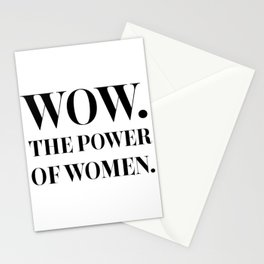 The Power of Women - Nicole Kidman Stationery Cards