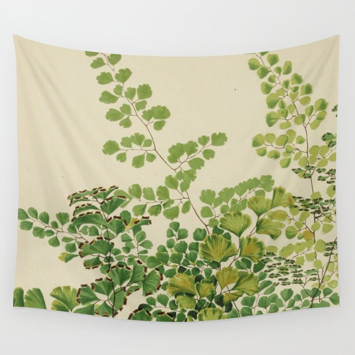 Maidenhair Ferns Wandbehang