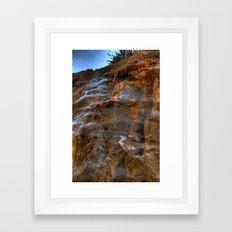 The Cliffs of Israel Framed Art Print