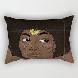 Emancipate yourself from Mental Slavery. Rectangular Pillow