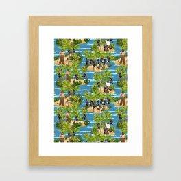 Robinson Crusoe Framed Art Print