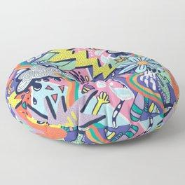 Pop Art Pattern Floor Pillow