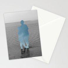 Sea Side Impression - Blue Sky Collage Stationery Cards