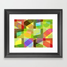 Colorful Truth. Shuffle 1 Framed Art Print