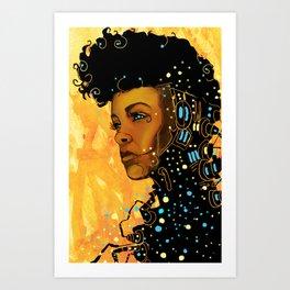 Monae 3 Art Print