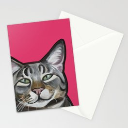 Whiskers the Tabby Cat Stationery Cards