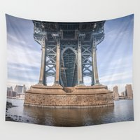 dumbo Wall Tapestries featuring DUMBO by MikeMartelli