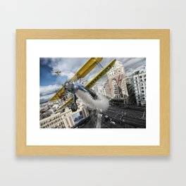 Street Air Race Framed Art Print