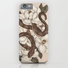 Snake and Magnolias iPhone 6s Slim Case