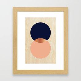 Copper Moon Framed Art Print