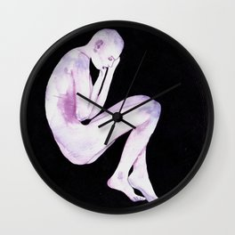 Foetal Void Wall Clock