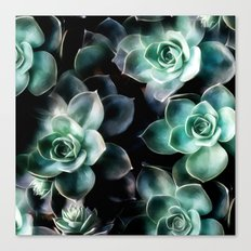 Succulent PATTERN IV Canvas Print