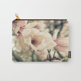 Magnolia Tree Bloom.  Flower Photography Carry-All Pouch