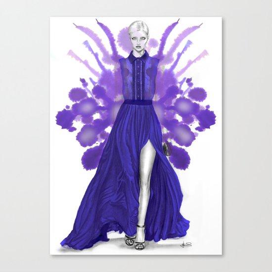+ SAAB + Canvas Print