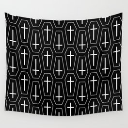 Coffins Wall Tapestry