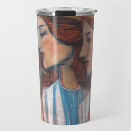 Tribute to Art Nouveau Travel Mug
