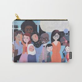 WHY AM I ME? SUBWAY SCENE Carry-All Pouch