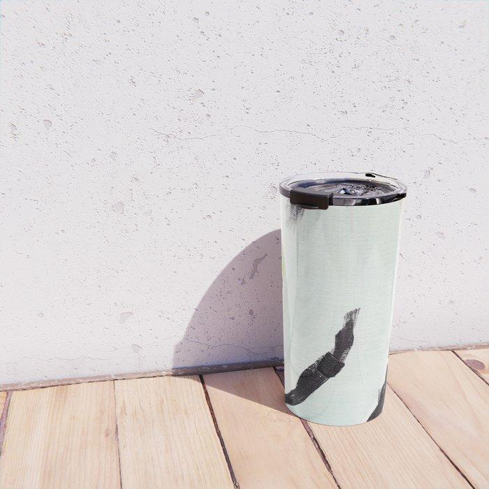 Twirl: Grey Travel Mug