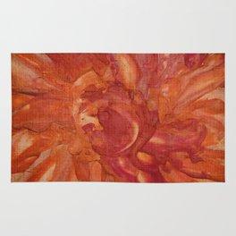 orange theme Rug