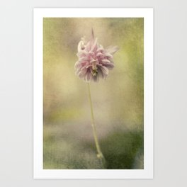 Columbine in LOVE Art Print