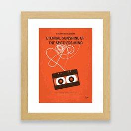 No384 My Eternal Sunshine of the Spotless Mind mmp Framed Art Print
