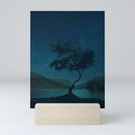 Under a Starry Sky Mini Art Print