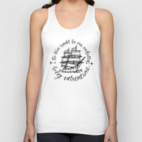 hook Tank Tops featuring Hook by Corina Rivera Designs