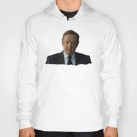 house of cards Hoodies featuring House Of Cards by BearClause