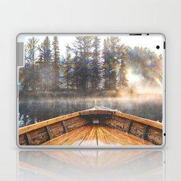 Canoe in the Lake Laptop & iPad Skin