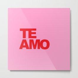 Te Amo Metal Print