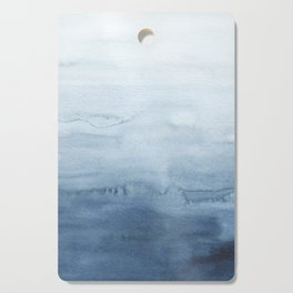 Indigo Abstract Painting | No. 4 Cutting Board