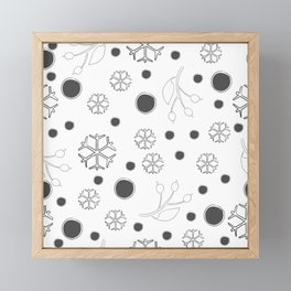 Winter Framed Mini Art Print