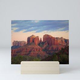 Moody Sedona Landscape by Reay of Light Mini Art Print