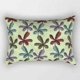 Endemic plants – Fingerkraut Rectangular Pillow