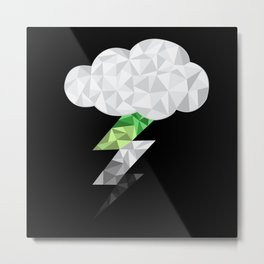 Aromantic Storm Cloud Metal Print