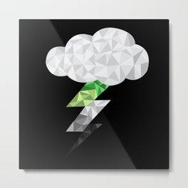 Aromantic Storm Cloud Metal Print
